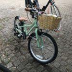 新しい自転車を買って