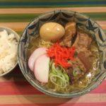 娘に残す料理レシピ'180204【なんちゃってソーキそば】【煮たまご?】