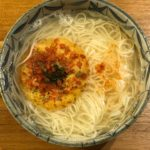 20190515超簡単煮麺(晩ご飯作るの面倒臭い時に)